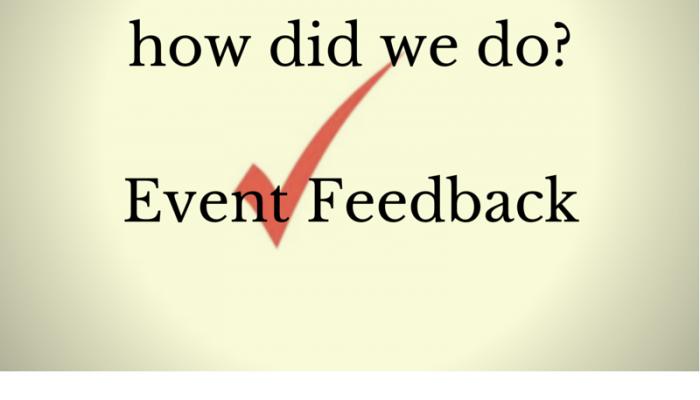 Event Feedback